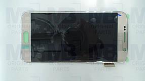 Дисплей Samsung G920 Galaxy S6 с сенсором Gold, GH97-17260C