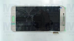 Дисплей Samsung G920 Galaxy S6 с сенсором Gold, GH97-17260C , фото 2