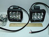 Фара дополнительного света LED балка 6000К 18Вт (2шт)