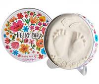 Baby Art Magic Box Цветы Отпечаток в коробке (круглая)