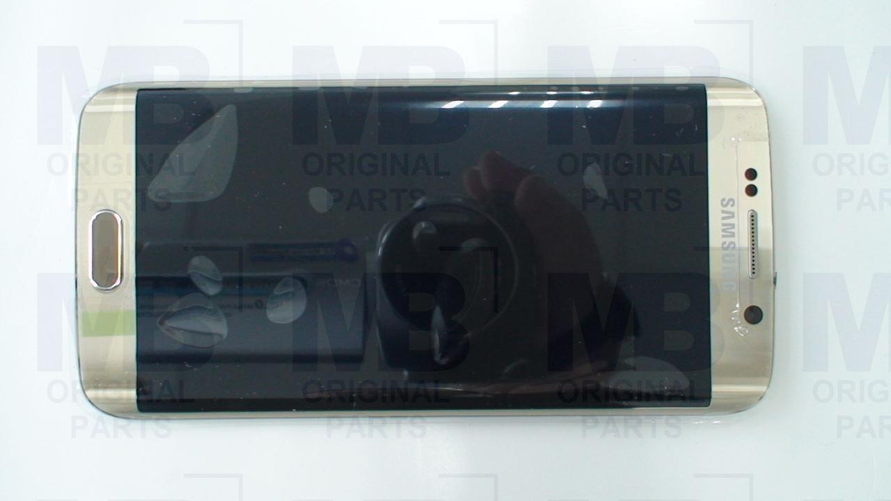 Дисплей с сенсором Samsung G925 Galaxy S6 Edge Золотой/Gold , GH97-17162C