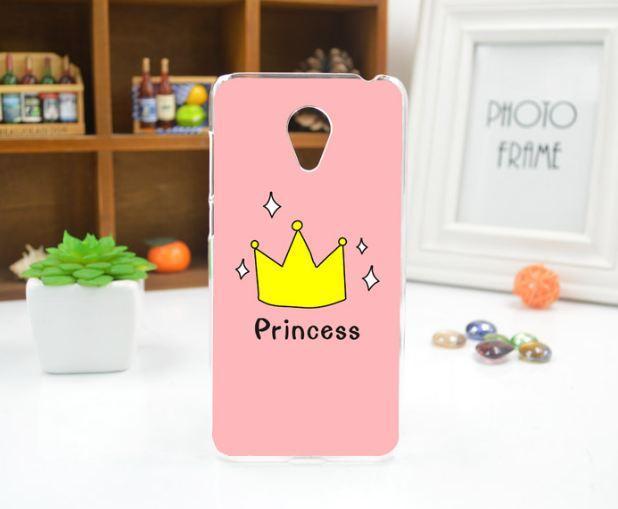 Чехол накладка силиконовая для Meizu M6 с рисунком Принцесса