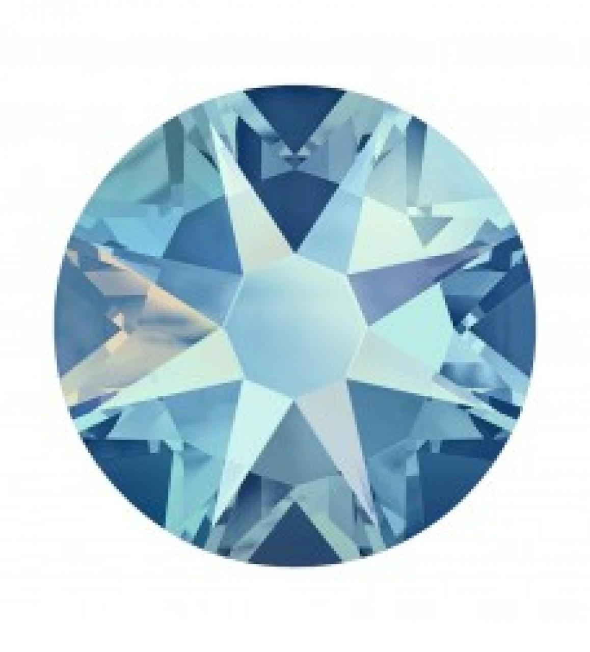 """Стразы """"Swarovski"""" 2058 Light Sapphire(211)Shimmer(SHIM)/SS5"""