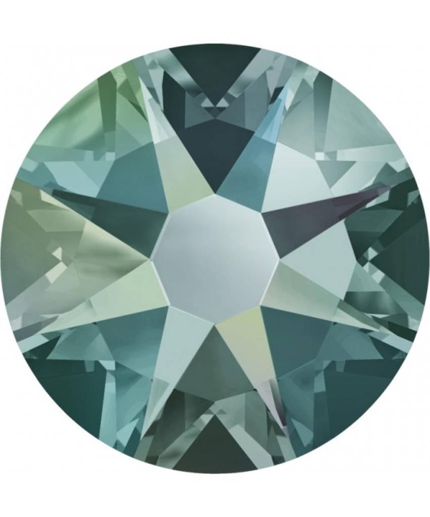 """Стразы """"Swarovski"""" 2058 BLACK DIAMOND(215) SHIMMER F/SS5"""