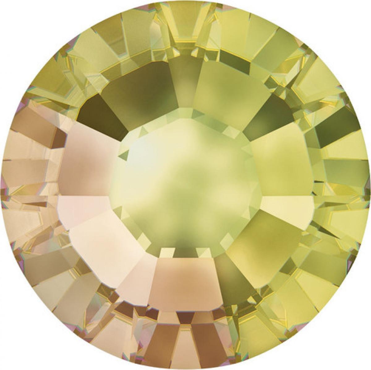"Стразы ""Swarovski"" 2088 Crystal Luminous Green F SS12 - 10шт"