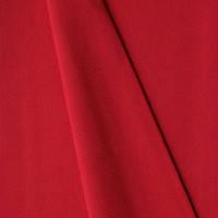 Ткань однотонная красного цвета, польская бязь