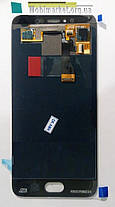 Модуль (сенсор+дисплей) для Meizu Pro 6 (M570), Pro 6s чорний, фото 3