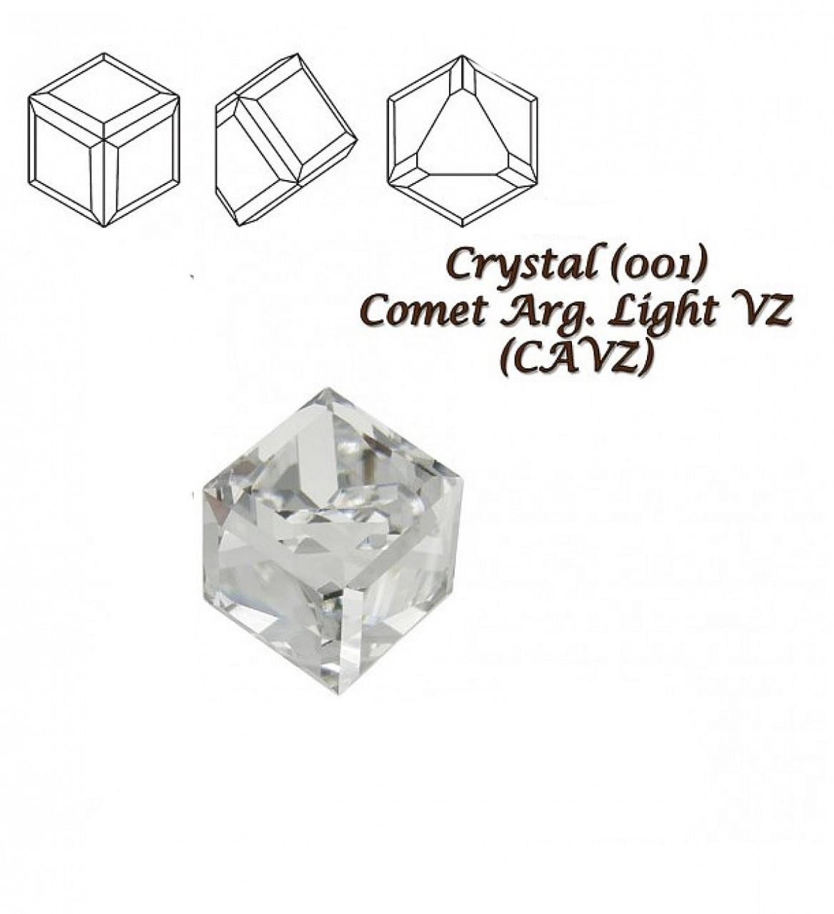 "Елемент ""Swarovski"" 4841 ""Кубик"" мм 4,0 CRYSTAL CAL""Z"" - 2 шт"
