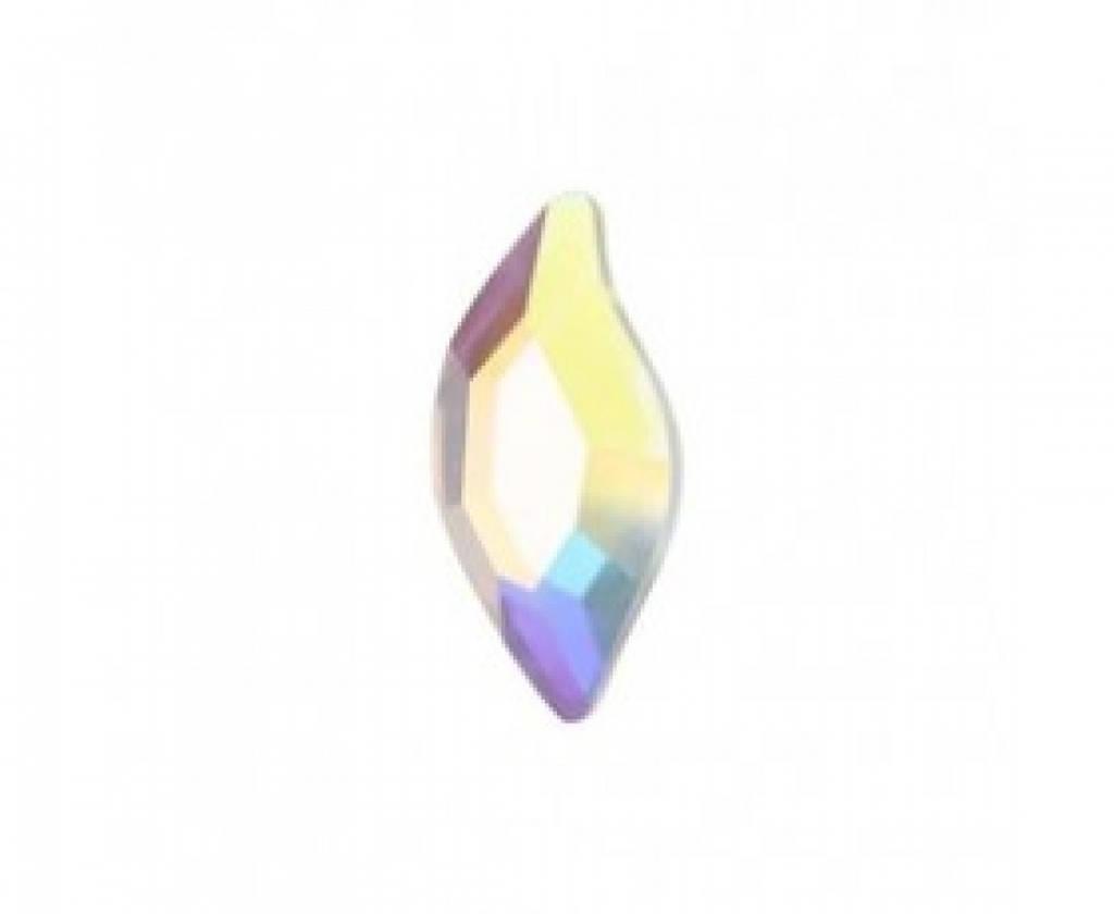 """Стразы """"Swarovski"""" 2797 Crystal  AB F mm8*4  - 1шт"""