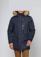 Мужская зимняя куртка Danstar KZ-100 (50) синий