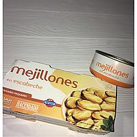 Мидии Mejillones Hacendado 175 гр