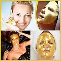 Эффективная коллагеновая маска для лица с золотом и гиалуроновой кислотой, фото 1
