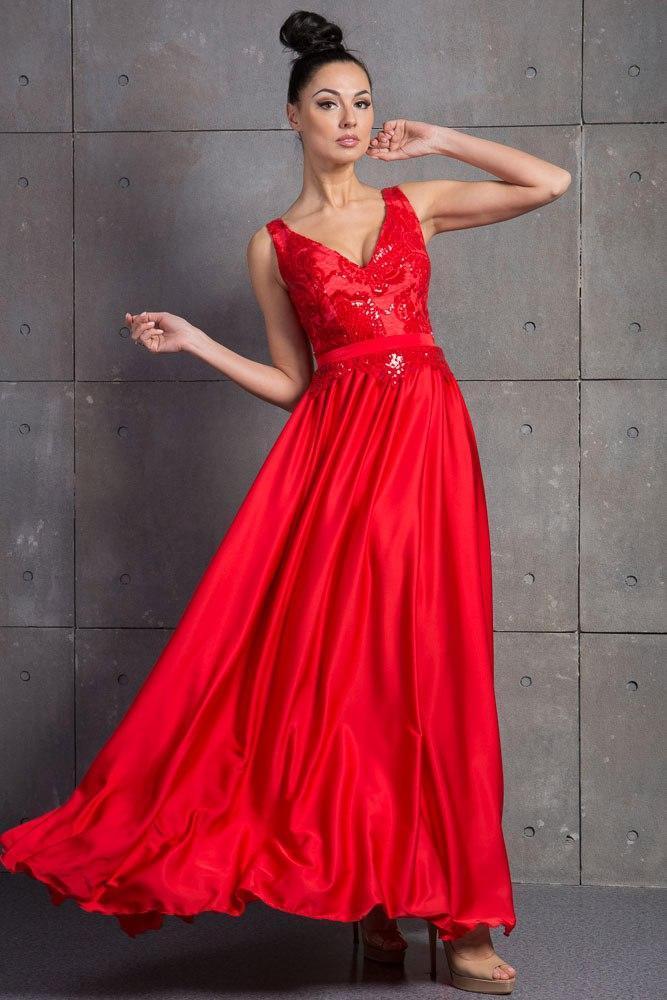 470ab497f0c184b Красивое платье на выпускной вечер ( р. 42-44,46-48), цена 1 200 грн ...