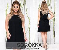 Суперлегкое платье из прошвы размер 48-54