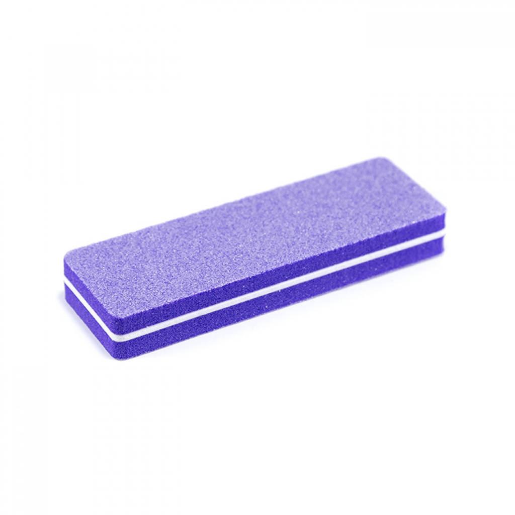 Баф (ластик) кирпич (уп 20 шт) фиолетовый