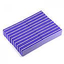 Баф (ластик) кирпич (уп 20 шт) фиолетовый, фото 2