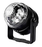 Проектор с датчиком звука Led Party Light