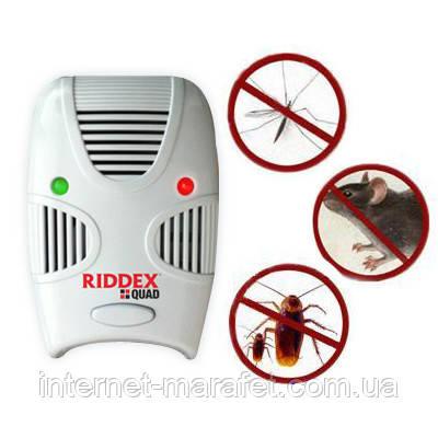 Відлякувач гризунів та комах Riddex Quad