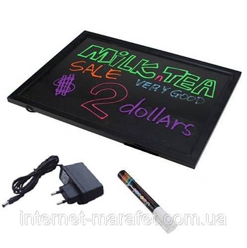 Световая панель для рекламы Sparkle Board