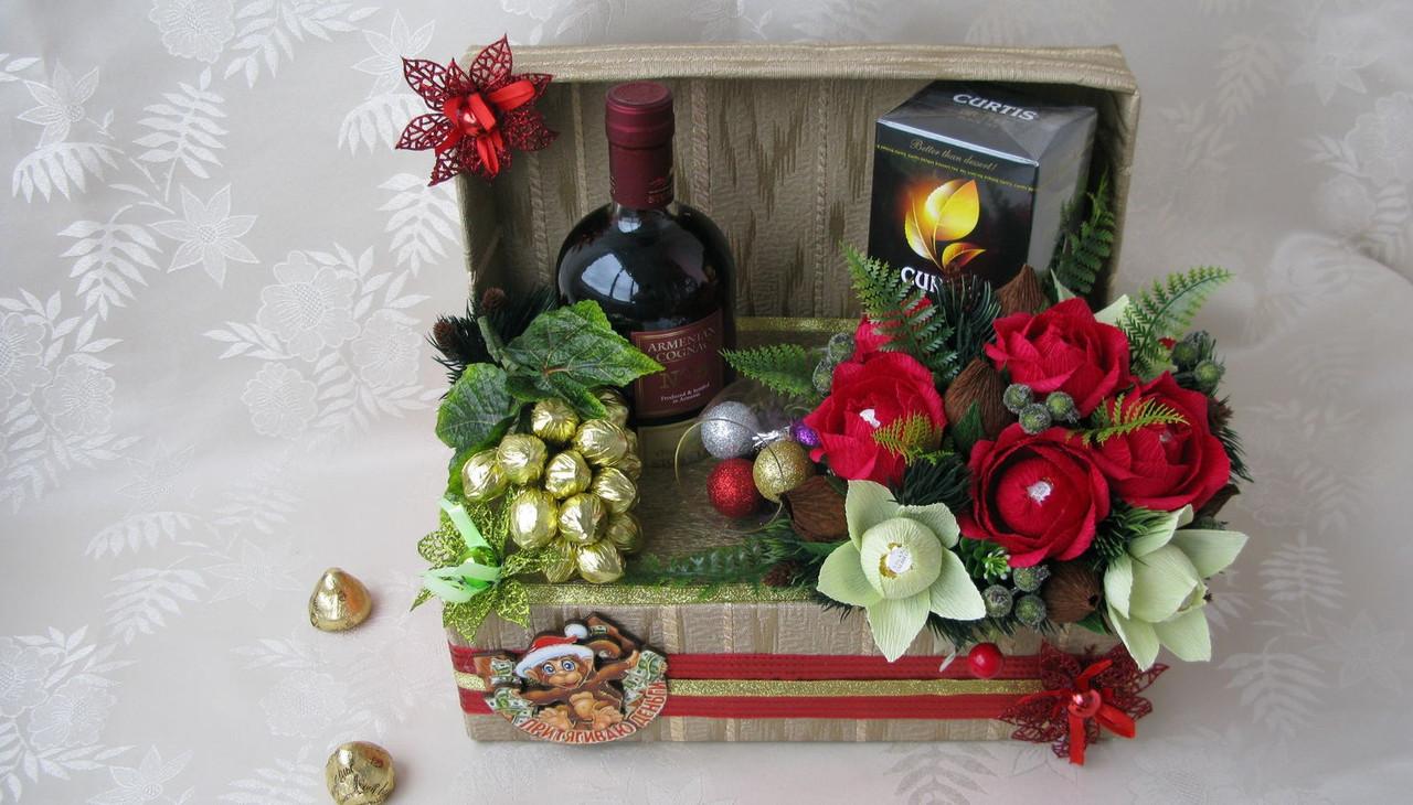 Світ бокс/sweet box. Подарунок, оформлення, букет цукерок.