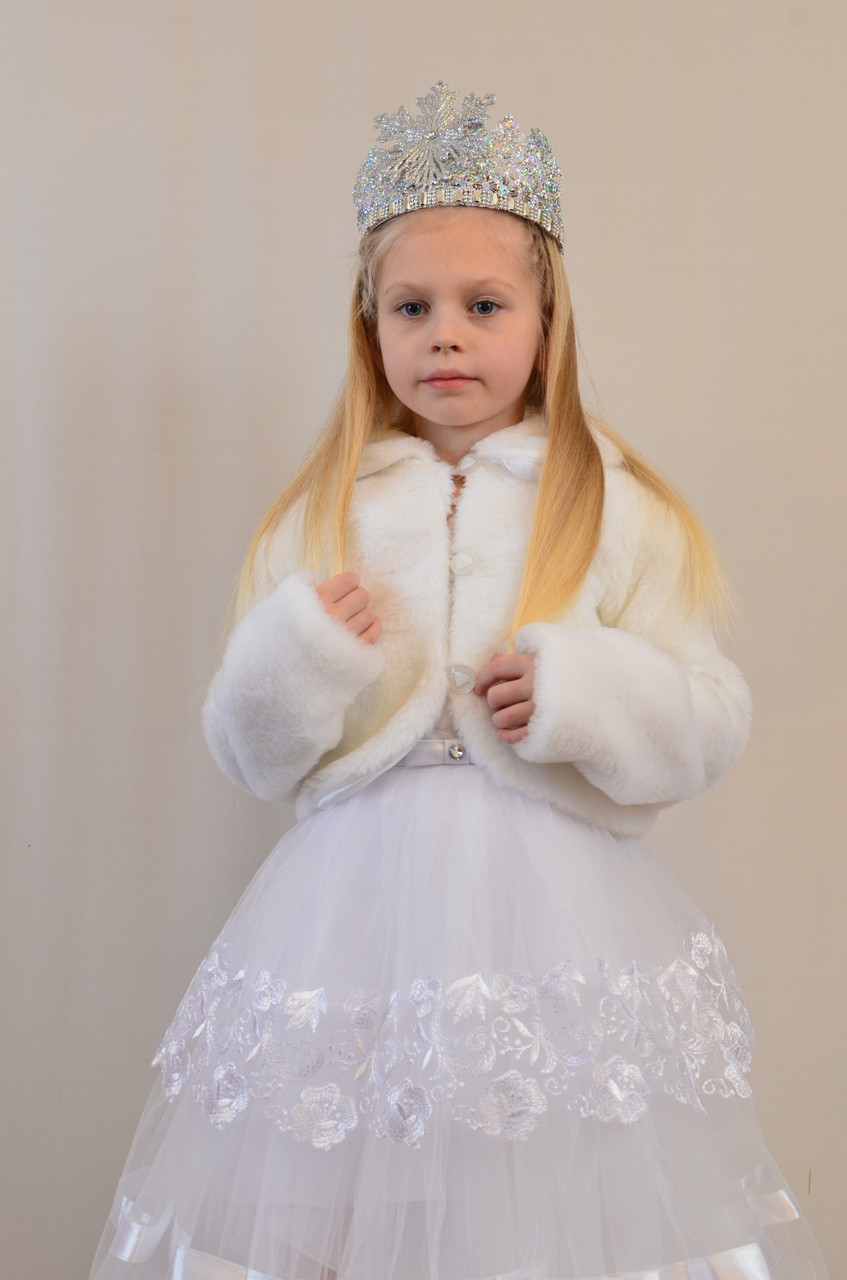 Детская новогодняя корона Снежинка