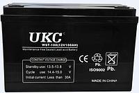 Гелевый аккумулятор АКБ UKC 100A