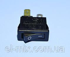 Выключатель AE-H8800VAAAB (SMRS-101-1) 1-группа ON-OFF черный  Arcolectric