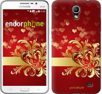 """Чехол на Samsung Galaxy Mega 2 Duos G750 Ажурные сердца """"734u-327"""""""