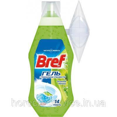 """BREF WC-Гель освеж. для унитаза """"Зеленое яблоко"""" 400 мл, фото 2"""