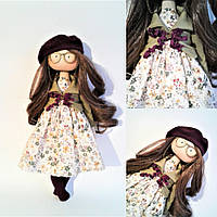 Текстильная кукла ручной работы Авторские куклы ручной работы Кукла Катя ручной работы