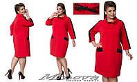 Платье женское большого размера недорого в интернет-магазине Minova ( р. 50-58 )