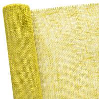 Мешковина желтая 50см х 5 м
