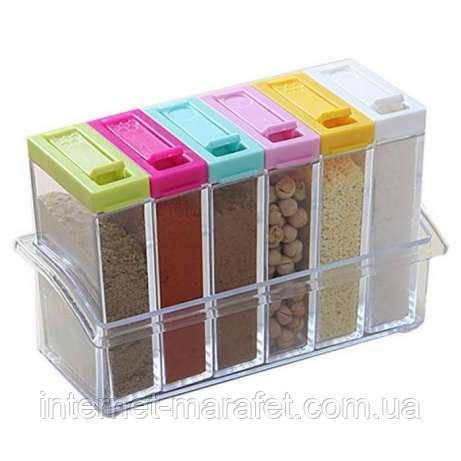 Набор контейнеров для специй Seasoning Set