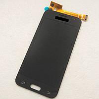 Дисплей (экран) для Samsung J200H Galaxy J2 + тачскрин, черный, оригинал