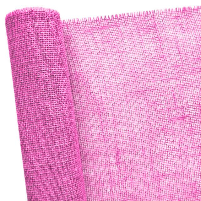 Мішковина рожева 50 см х 5 м