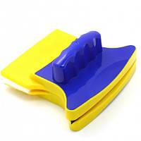 Магнитная щетка для мытья окон Double Sided Glass Cleaner, фото 1