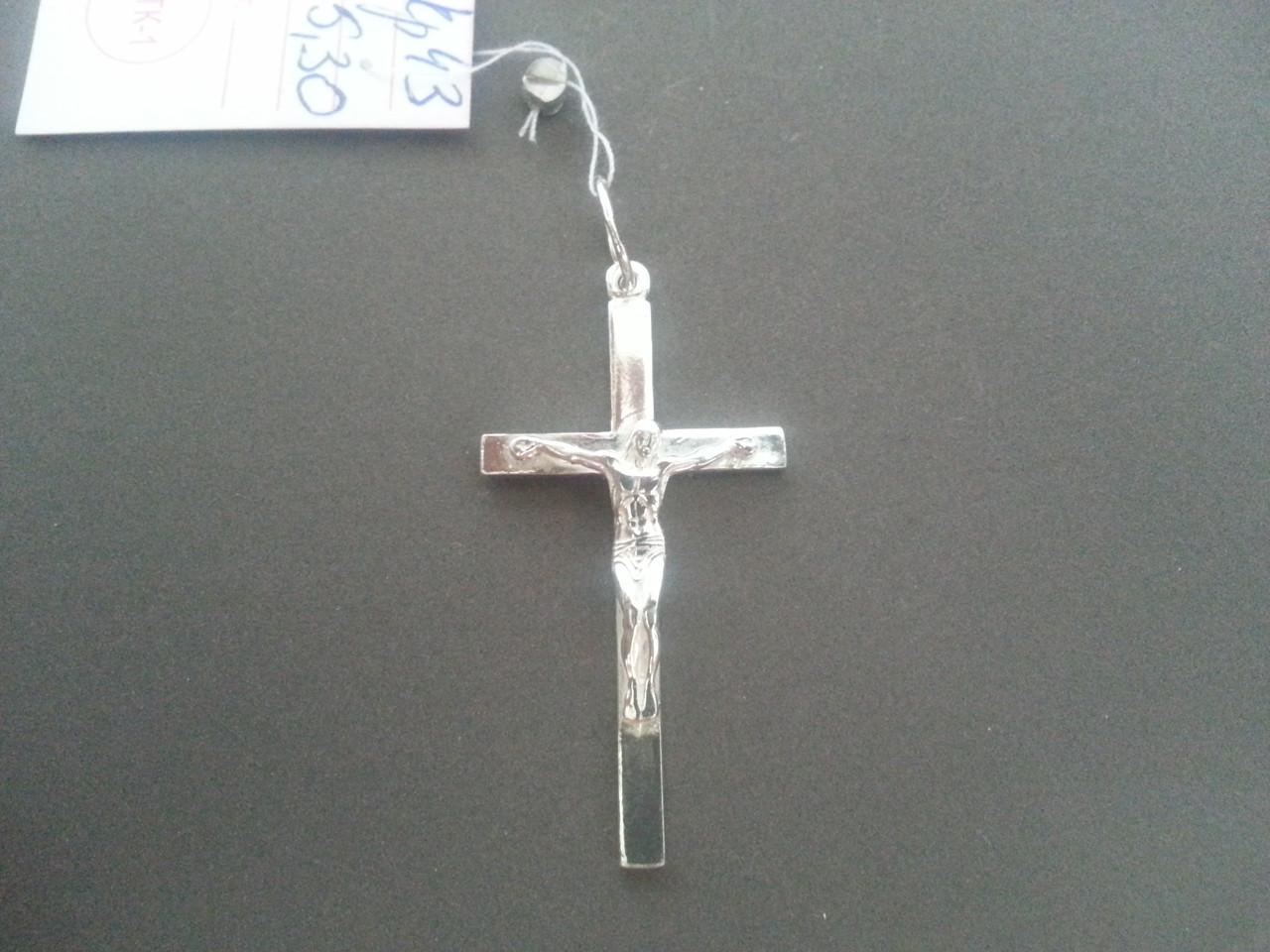 Серебряный  Крест Арт. Кр 43