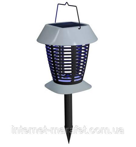 Лампа ловушка для насекомых на солнечной батарее VL-8102 - защита от насекомых