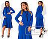 Красивое  длинное платье с юбкой годе ниже колен размер 48-54, фото 4