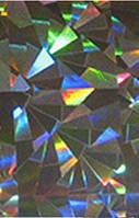 Фольга голографическая ,серебро