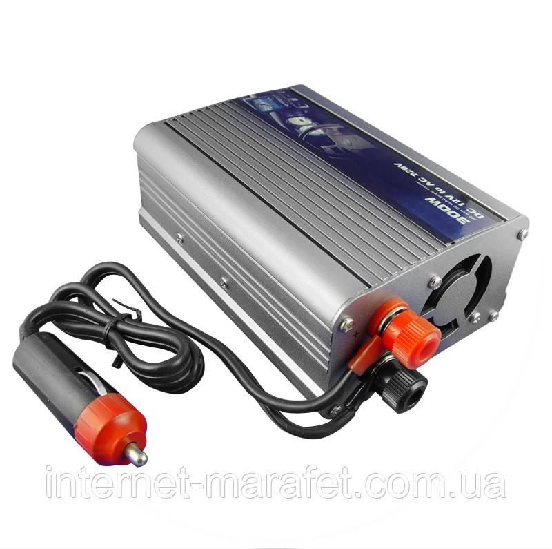 Автомобильный инвертор Power Invertor 300 Watt