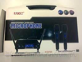 Мікрофон караоке UKC UHF U-5000