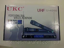 Бездротовий мікрофон UKC UHF U-4000