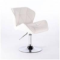 Кресло парикмахерское  HC-111N белое
