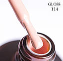 """Гель-лак 114 """"Пастель"""" Gloss 15мл, фото 2"""