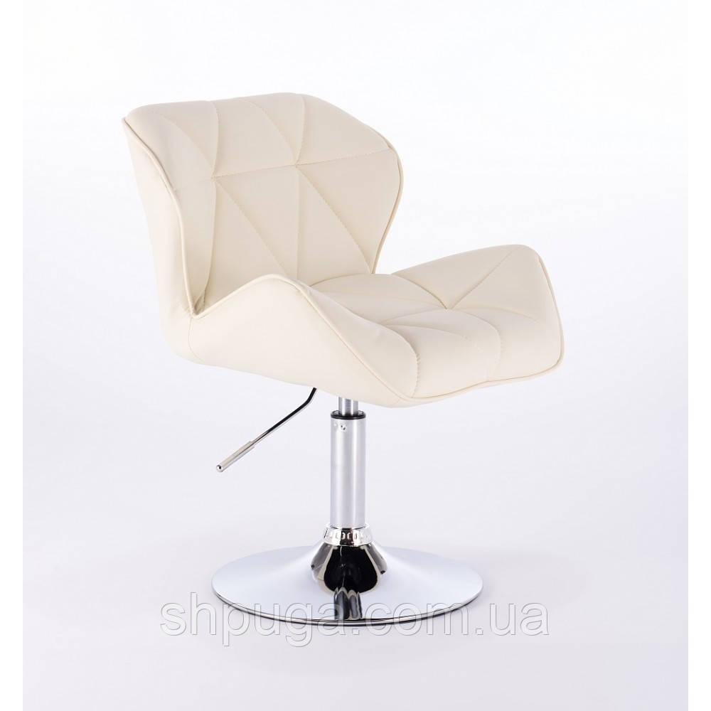 Кресло парикмахерское  HC-111N кремовое