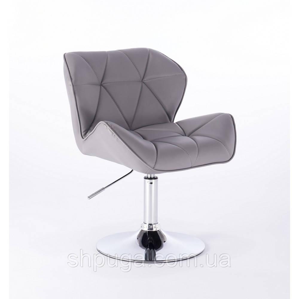 Кресло парикмахерское  HC-111N серое