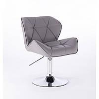 Кресло парикмахерское  HC-111N серое, фото 1