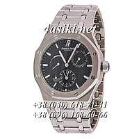 Часы Audemars Piguet Royal Oak Dual Time Silver-Black