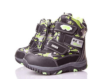 Детские ботинки зимние для мальчика, 27-32
